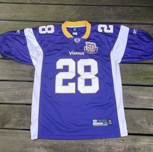 Adrian Peterson Vikings embroidered Jersey